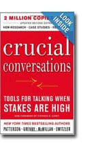 Book titled Crucial Conversations