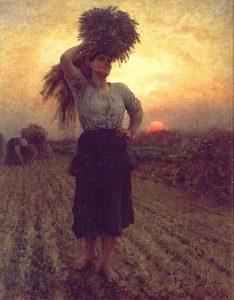 Jules Breton-Harvesters