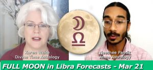 Full Moon in Libra: Spring Equinox, the 3 of Diamonds & Your Health