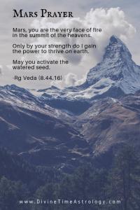 Mars Prayer -