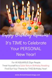 Happy Birthday Aquarius